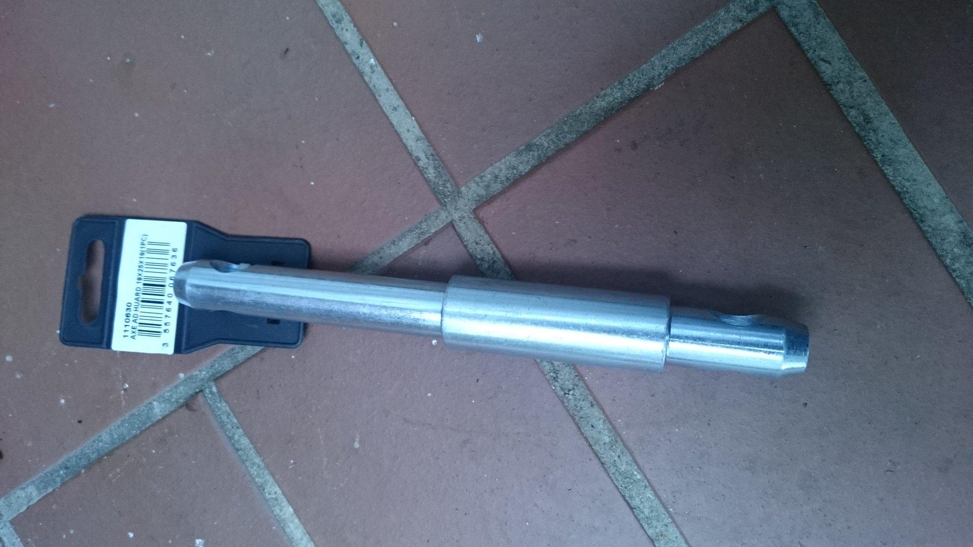 Oberlenker Stufenbolzen Kat 1-2 50mm und 100mm Nutzlänge Sicherungsbolzen neu